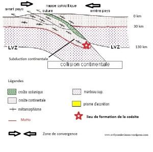 subduction continentale corrigé